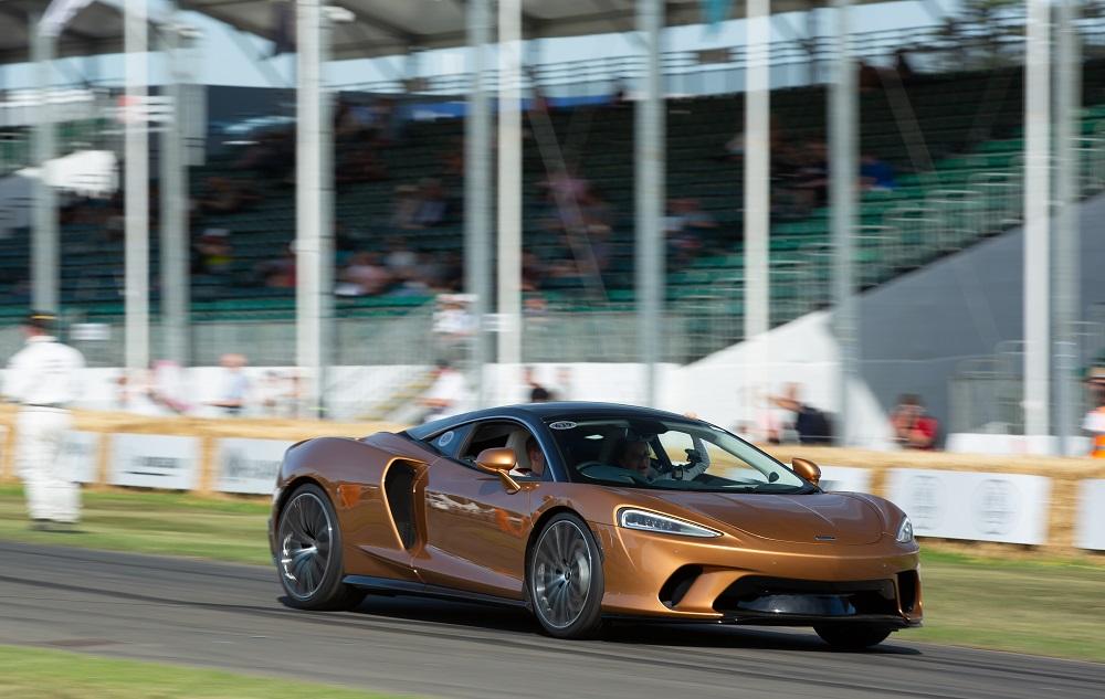 McLaren GT makes global dynamic debut at Goodwood