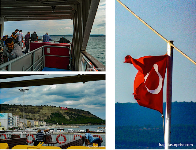 Travessia do Estreito de Dardanelos, Turquia