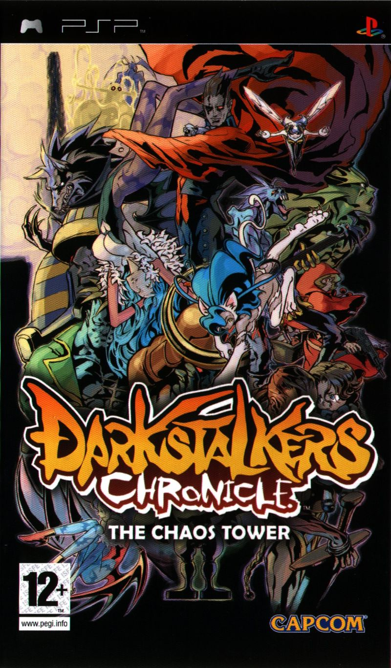 Darkstalkers Chronicle - The Chaos Tower - PSP - ISO Download