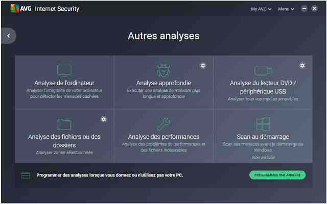 تحميل برنامج الحماية من الفيروسات AVG Internet Security