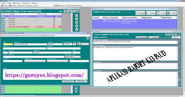 Aplikasi Raport K13 PAUD TK RA Lengkap