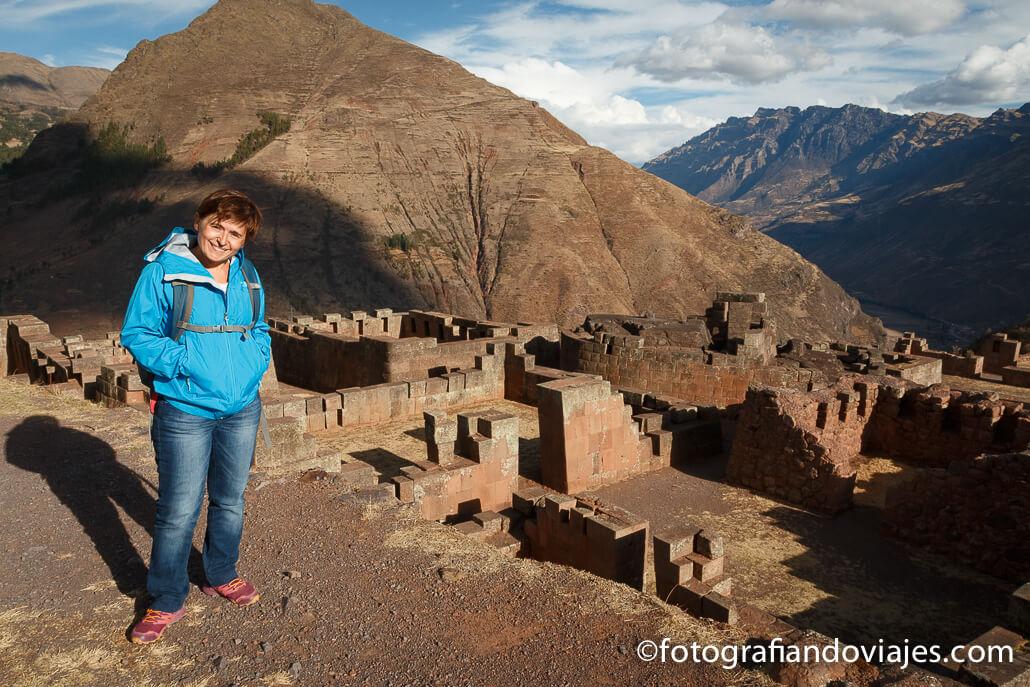 Ruinas incas de Pisac, intihuanata