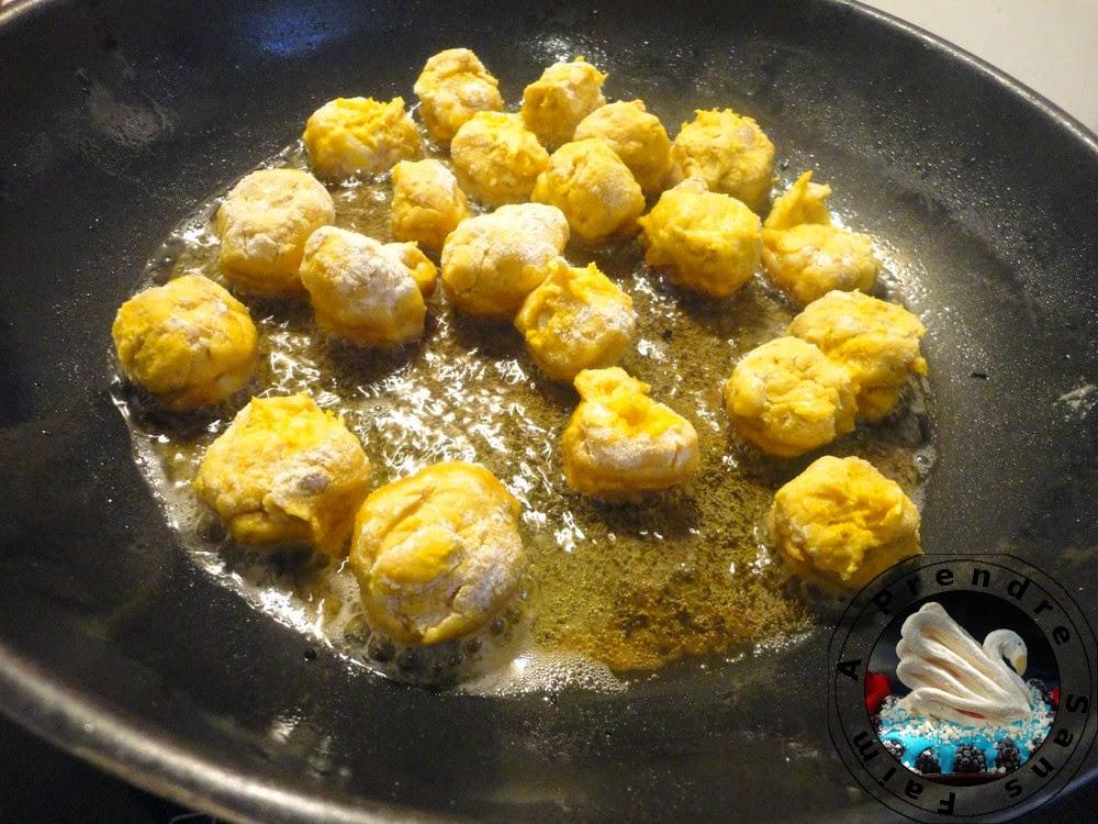 Bouchées de potimarron aux épices (pas à pas en photos)