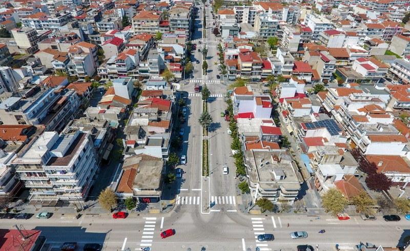 Ανάπλαση πεζοδρομίων και νησίδας στο εμπορικό κέντρο Ορεστιάδας