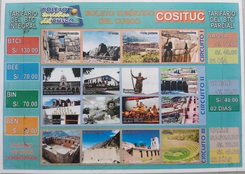 Boleto Turístico de Cusco, tudo que você precisa saber!