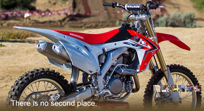 Western Honda Motorcycles Phoenix: Honda 2014 CRF®450R Dirt Bike