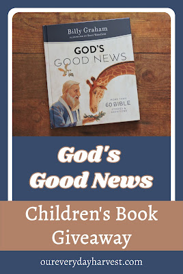 Children's Bible Stories and Devotions Book Giveaway
