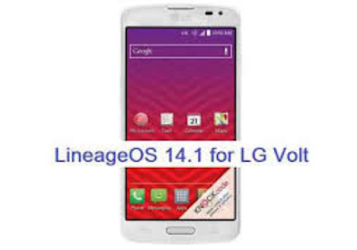 How To Update LG VOLT LS740 To Android 7.1.1 Nougat LineageOS 14.1 Unofficial ROM [Simple Steps]