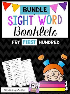 https://www.teacherspayteachers.com/Product/Sight-Word-Booklets-First-Hundred-BUNDLE-2391870