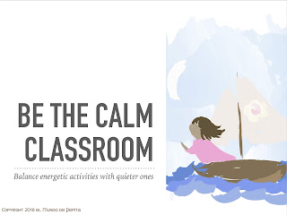 Creating a Calm Classroom to support Students