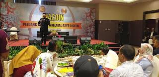 INACOIN Gelar Kegiatan Ambil Peluang Bisnis Milineal Aset Digital Bagi Masyarakat Jambi.