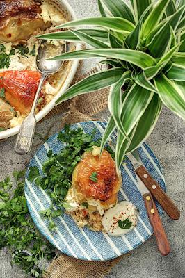 Paprike punjene krompirom i pancetom