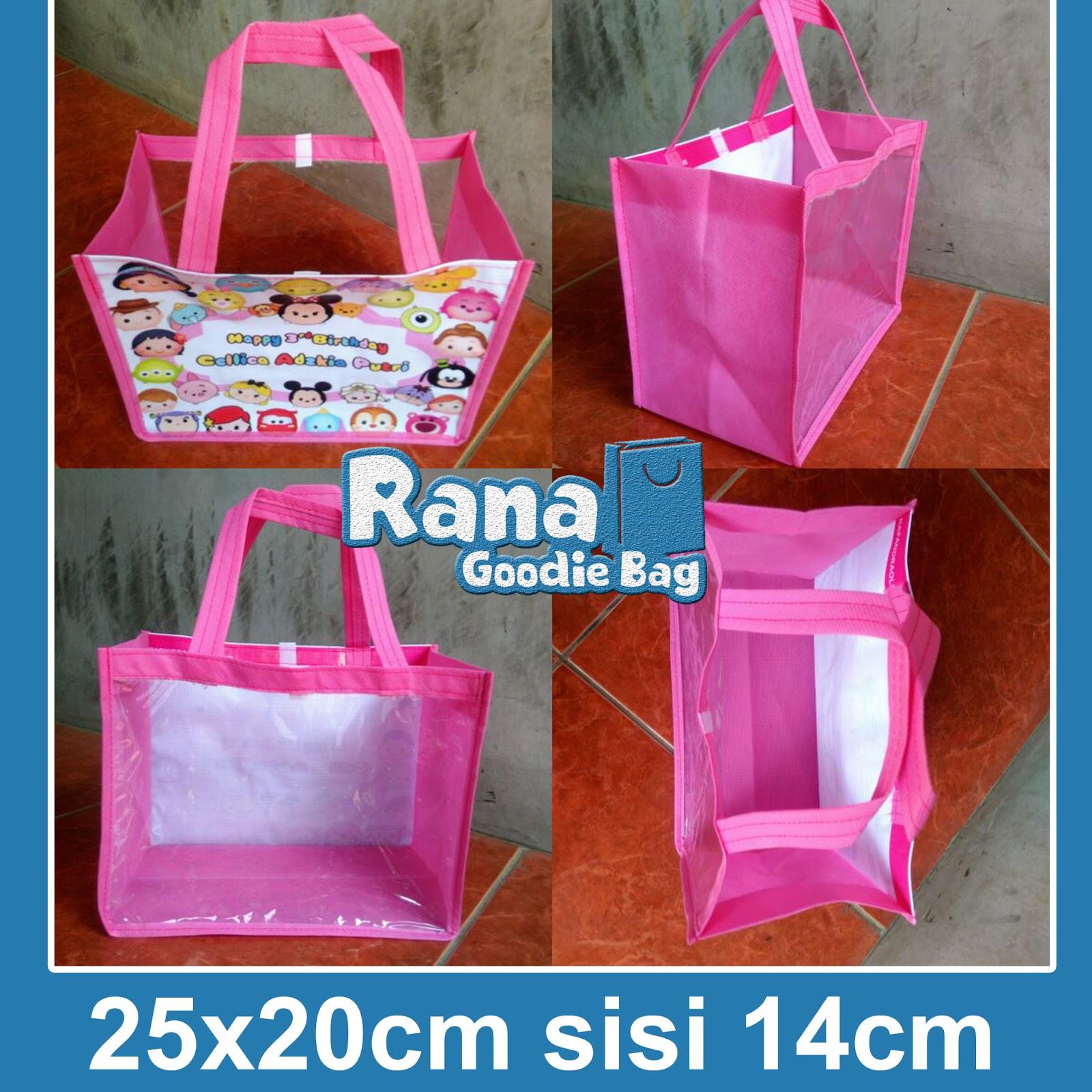 Toko Goodie Bag Ultah Anak Ready Stock Tas Disney Tsum Mika Murah