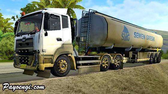 livery ud quester trailer tangki semen gresik