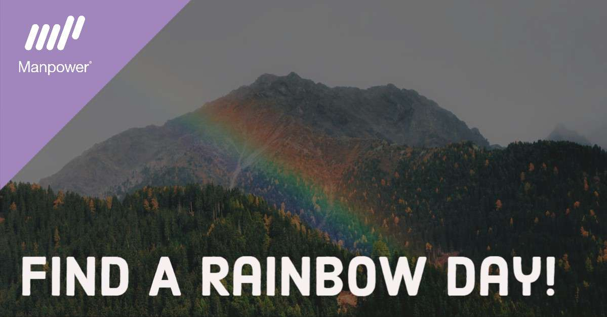 National Find a Rainbow Day Wishes Sweet Images
