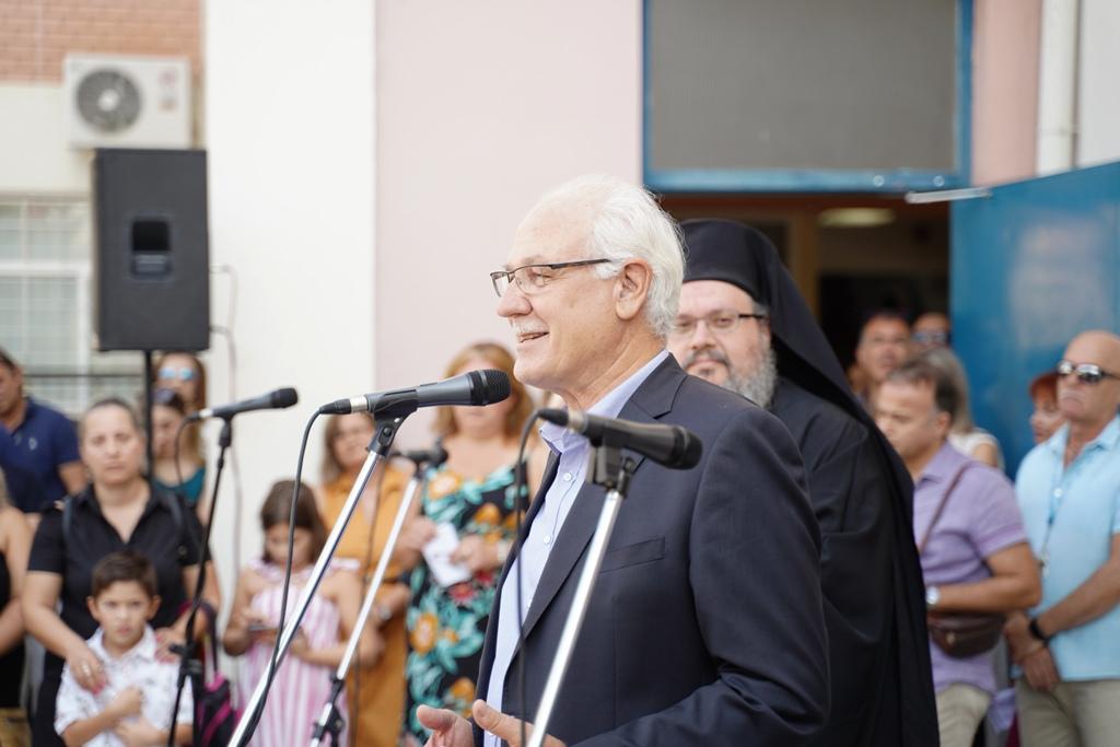 """Απόστολος Καλογιάννης: """"Ερχεται το πρόγραμμα «Ανοικτά Σχολεία» στην Λάρισα"""""""