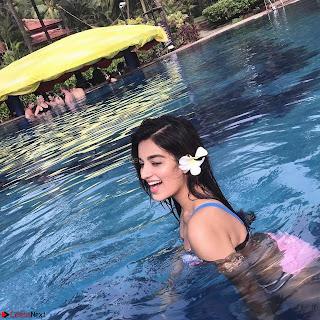 Nidhhi Agerwal Munna Michael Actress Bikini Vacation ~ Exclusive 001