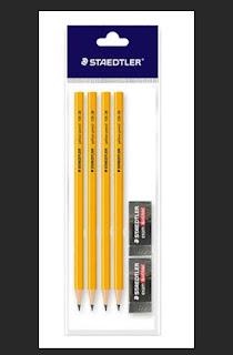 Pensil Staedtler Yellow 2B