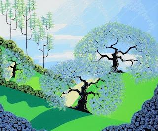 paisajes-representaciones-modernas cuadros-modernos-paisajes-pintados