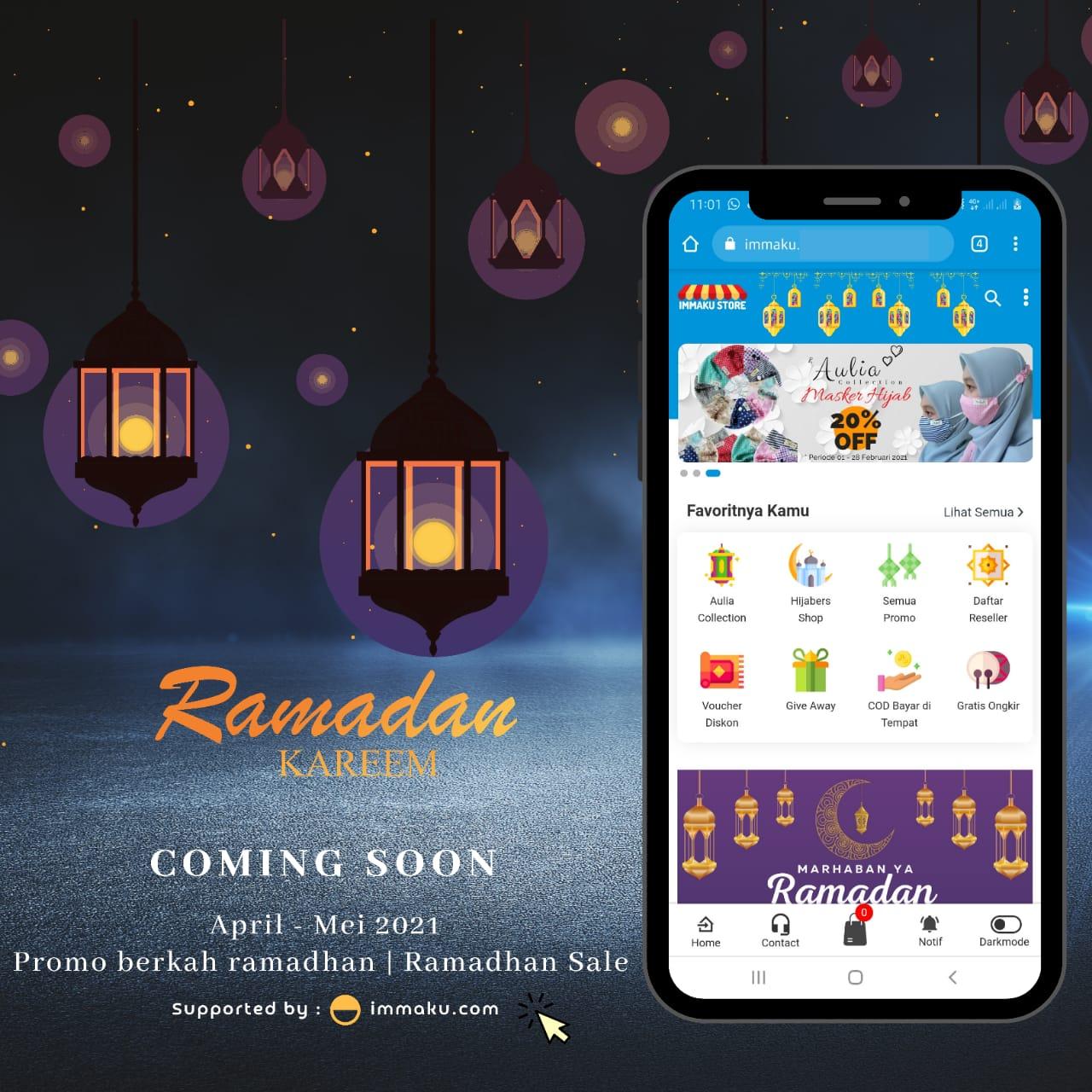 Banner Promo Berkah Ramadhan