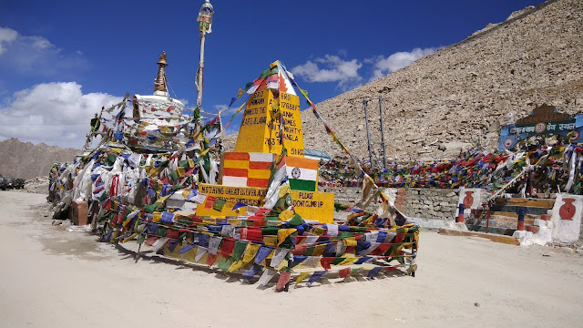Leh Ladakh Bike Trip and Changla Pass