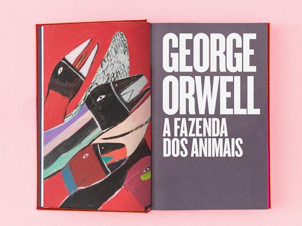 Companhia das Letras relança A Revolução dos Bichos, de George Orwell, com o título original A Fazenda dos Animais
