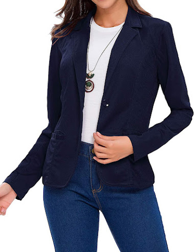 Navy Blazers For Women