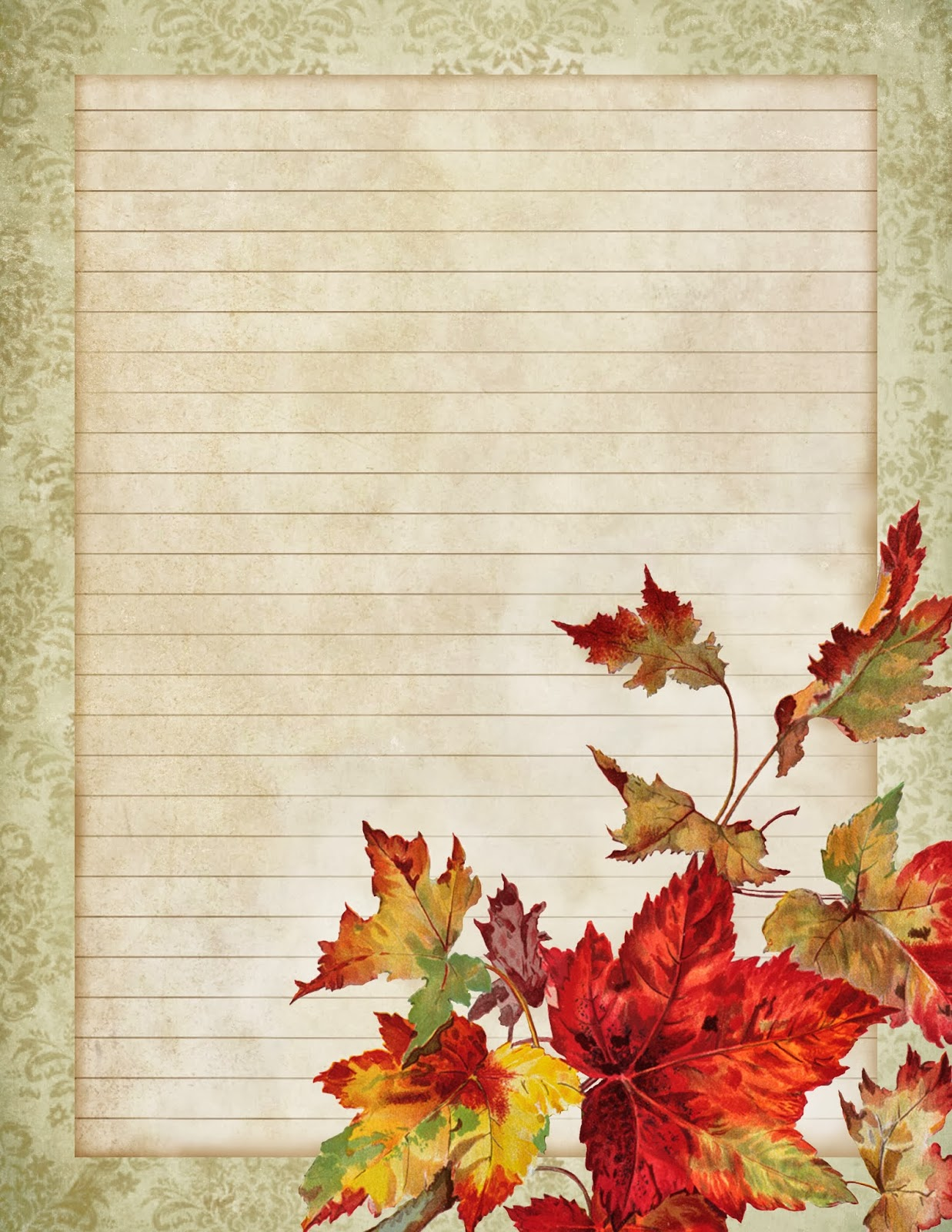 Invaluable image pertaining to free printable fall leaves