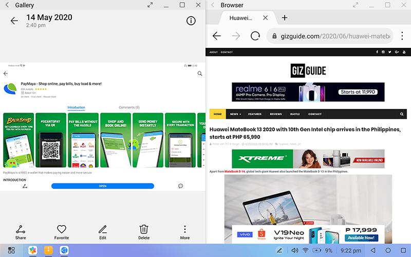 Desktop mode