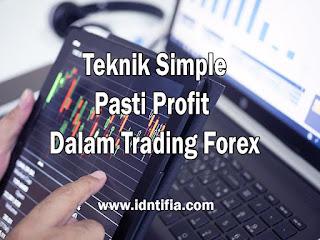 teknik-trading-simple-berakhir-profit