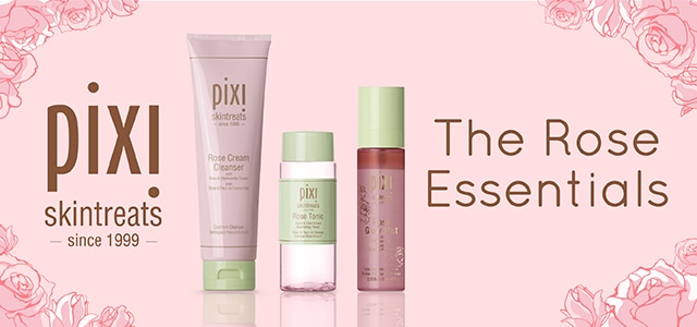 PIXI BEAUTY SKINTREATS - ROSE LINE!