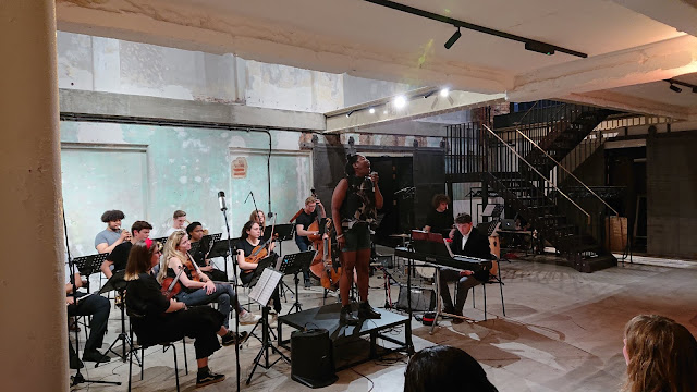 Brixton Chamber Orchestra, Matthew O'Keeffe, Ruth Brown - Downstairs at the Department Store, Brixton