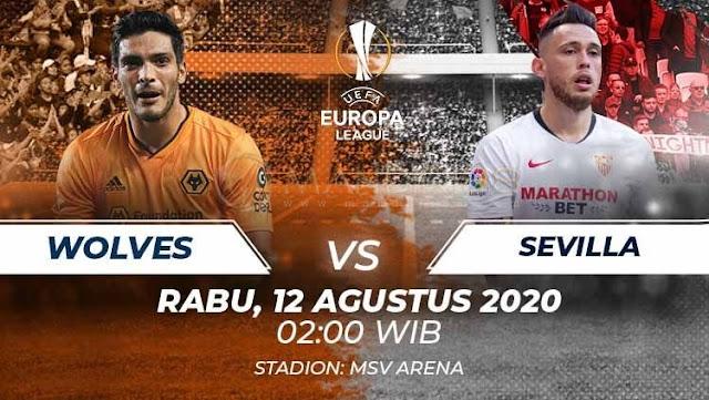 Prediksi Wolverhampton Wanderers Vs Sevilla, Rabu 12 Agustus 2020 Pukul 02.00 WIB @ SCTV
