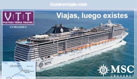 MSC Divina desde Puerto Cañaveral