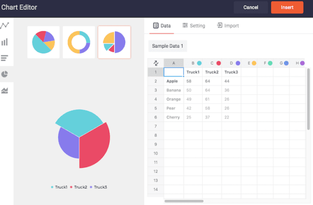 Charts and tables - DesignCap