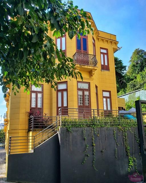Villa Aymoré, na Ladeira da Glória