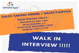 Walk-in Interview Artaboga Cemerlang