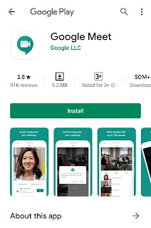 Google Meet Application Download