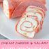 CREAM CHEESE & SALAMI KETO PINWHEELS