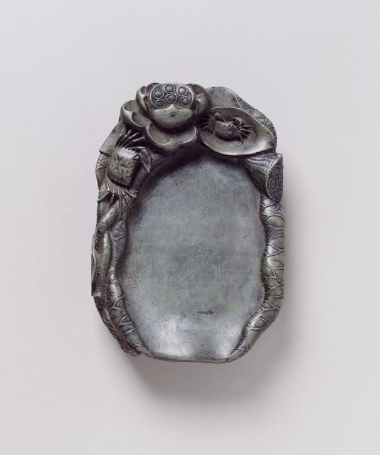 벼루(石製硯), 조선, 높이 5.2cm, 세로 17.5cm, 가로 12.2cm, 국립중앙박물관