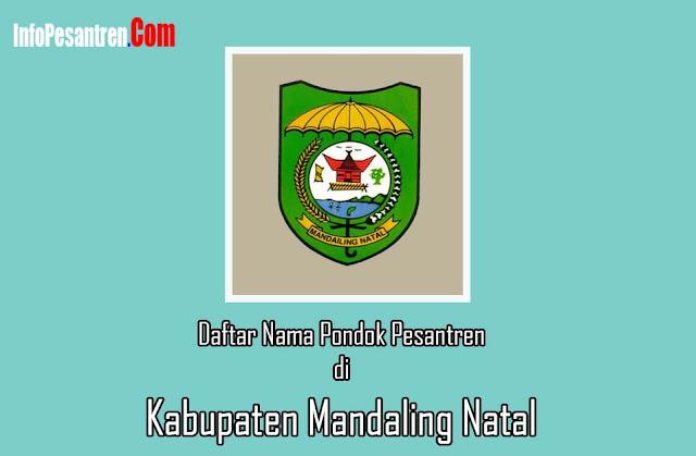 Pesantren di Kabupaten Mandaling Natal