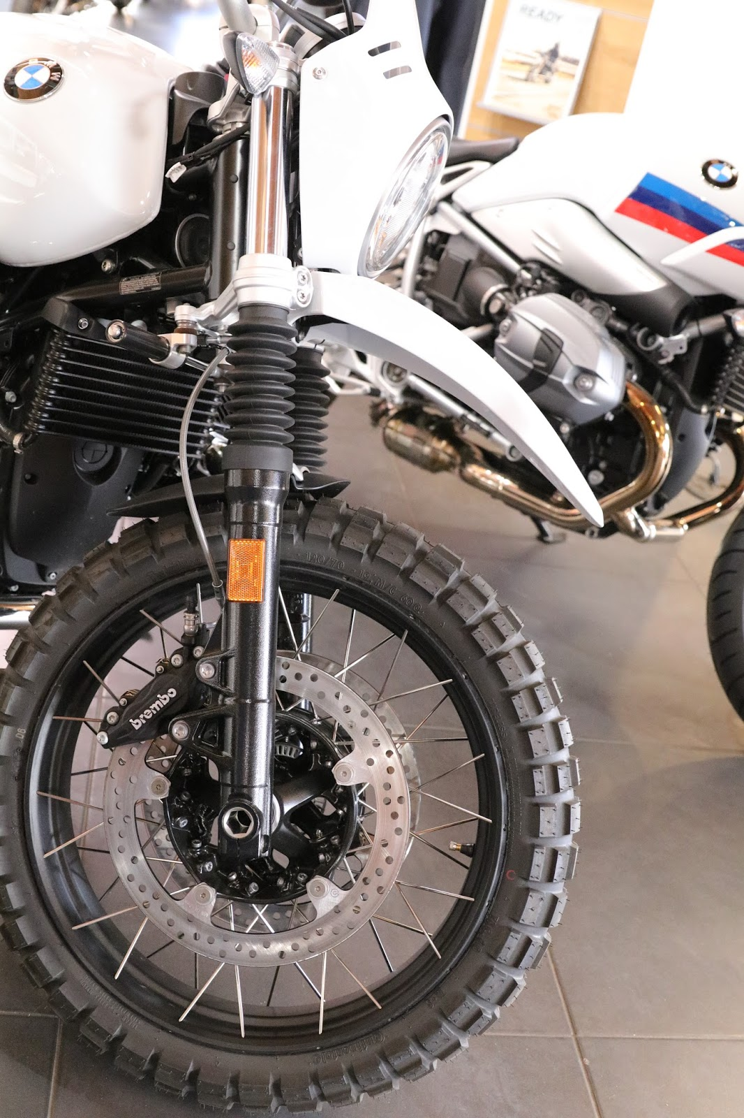 OldMotoDude: BMW RnineT Scrambler for sale at Foothills BMW