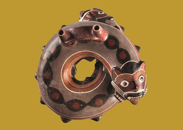 Museum Rietberg Zurich Nasca.Peru Exhibit Ceramics