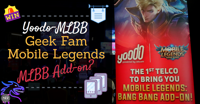 Yoodo Sponsor Team MLBB Geek Fam + Meet & Greet!