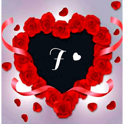 Download Beautiful Stylish A to Z Red Heart Alphabets Letters Pics name Dpz for Facebook, Instagram, whatsapp etc.