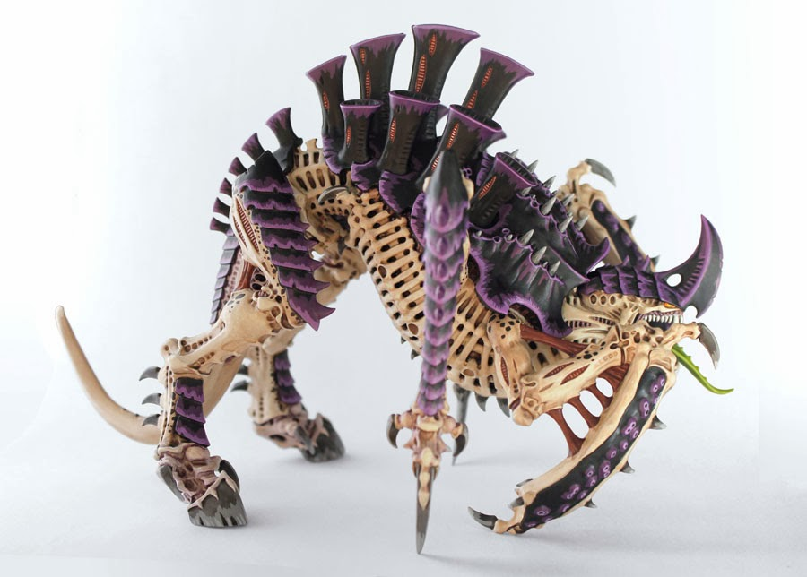 The Hammer of Wrath: SHOWCASE: Tyranid Tyrannofex with
