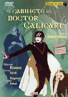soberbia edición en DVD por parte de Divisa de El gabinete del doctor Caligari