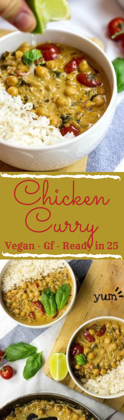 Vegan Chickpea Curry #vegetarian #vegan #healthyrecipe #food #eathing