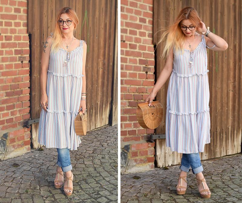 wie style ich ein Kleid zur Hose, Streetstyle, Modeblogger
