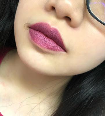 Review : Purbasari Metallic Color Matte Lipstick by Jessica Alicia